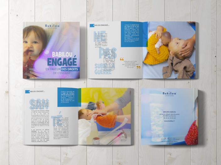 """Création d'un 24 pages à l'occasion de """"la journée des droits de l'enfant"""""""