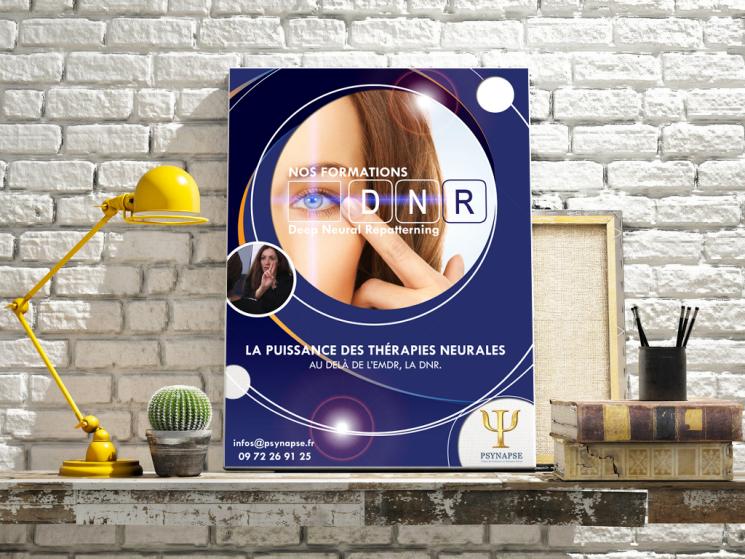 Affiche publicitaire pour formation DNR