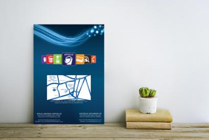 Réalisation d'un catalogue produits avec création de pictogrammes