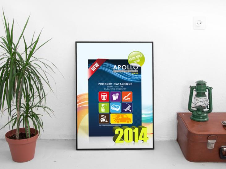 Création affiche promotionnelle du nouveau catalogue